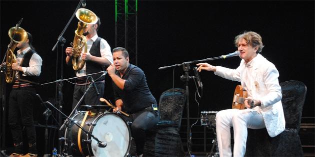 Goran Bregoviç Girne'de konser verdi