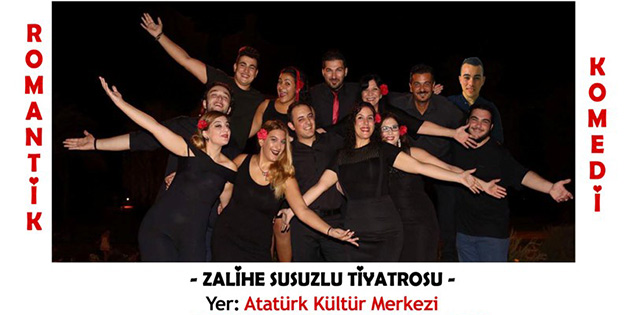 G�zelyurt belediyesi tiyatro g�nleri 28 Ekim'de ba�l�yor