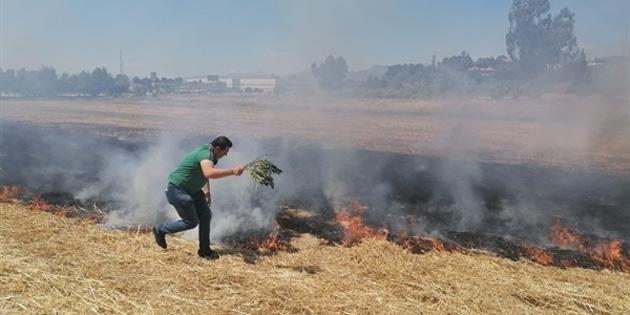 Alayköy'de ve Düzova'da iki ayrı yangın meydana geldi