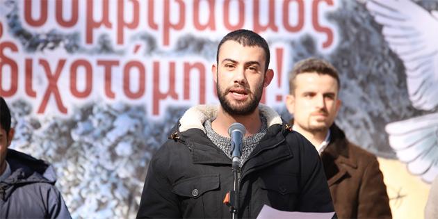 """Kıbrıslı Türk ve Rum gençlerden """"Kıbrıs'ta barış ve yeniden birleşme"""" çağrısı"""