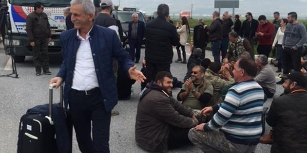 Ercan'a giriş çıkışlar yapılamıyor