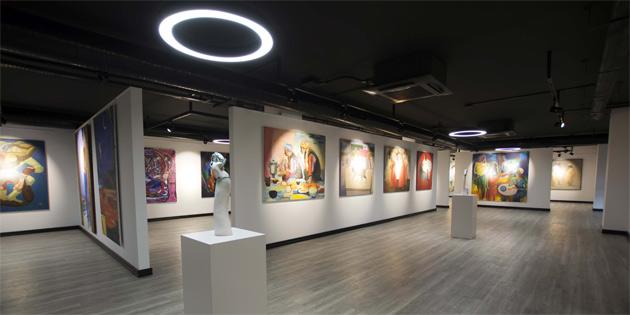 """""""Günsel Sanat Müzesi"""" açıldı"""