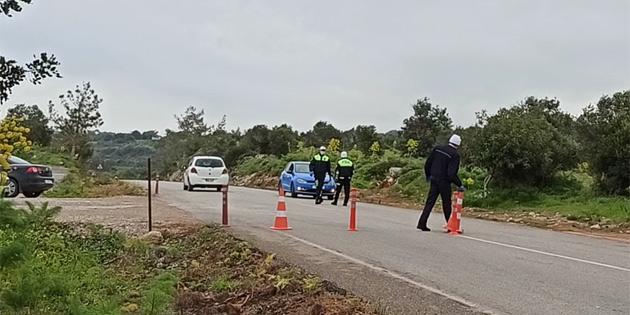 Karpaz'da 15 köyde korona salgını nedeniyle sokağa çıkma yasağı