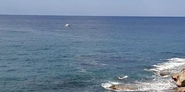 Alagadi'de denizde kaybolan gencin cansız bedenine ulaşıldı