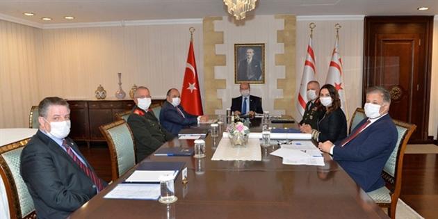 Üst Koordinasyon Kurulu, Cumhurbaşkanı Tatar başkanlığında