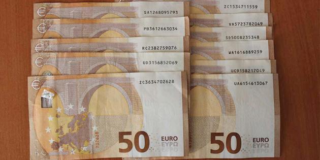 POLİSTEN SAHTE 50 EURO'LUK BANKNOT UYARISI