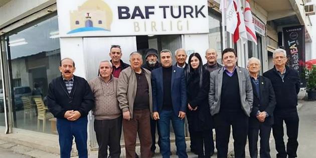 Güzelyurt'ta Baf Türk Birliği lokali açıldı