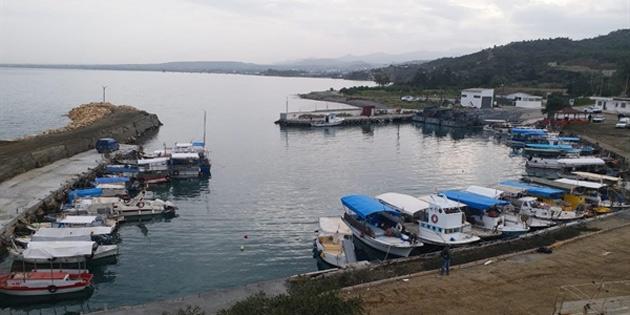 Yedidalga'da tadil edilen balıkçı barınağının açılışı yarın yapılıyor