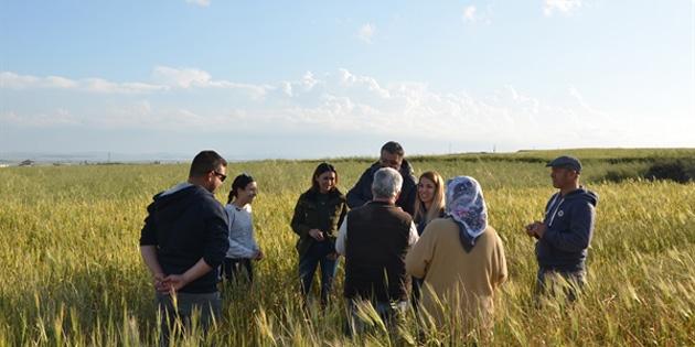 Kalavaç'ta Tarım Dairesi'nden Eğitim