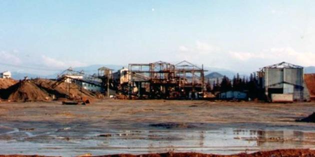 Lefke �evre Ve Tan�tma Derne�i Cmc Maden At�klar�n�n hemen temizlemesini istedi