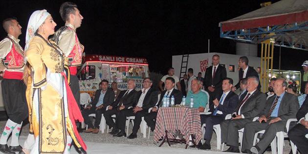 MESARYA FEST�VAL� BA�BAKAN �ZG�RG�N'�N KATILDI�I T�RENLE BA�LADI
