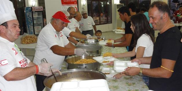 Ramazan ayı boyunca Kuğulu Park'ta iftar yemeği verecek