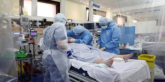 Güney kıbrıs'taki hastaneler üç haneli vakalar nedeniyle alarm veriyor