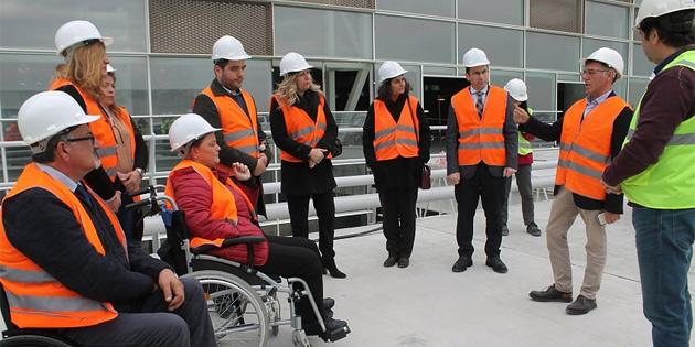 Engelli derneklerine Ercan'da bilgilendirme gezisi