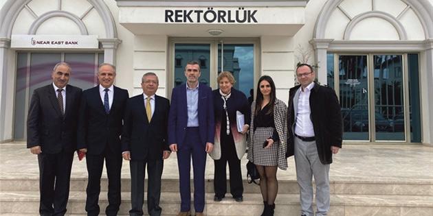Girne Üniversitesi ile Priştine Pjeter Budi College arasında işbirliği protokolü
