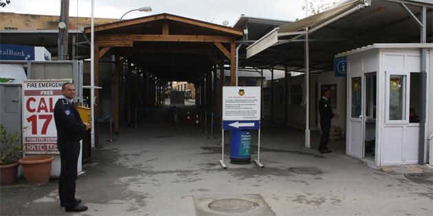 Rum Yönetimi Derinya, Lokmacı, Bostancı ve Lefke sınır kapılarını bir haftalığına kapattı