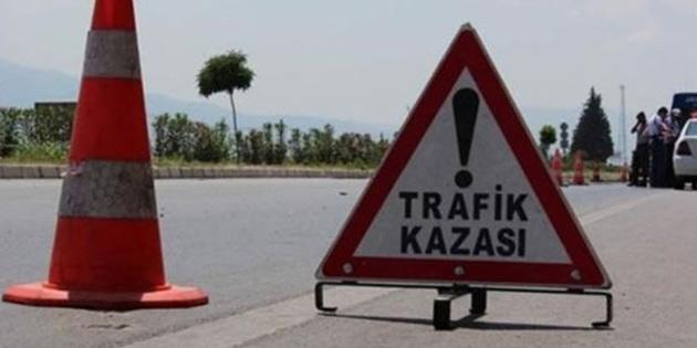 KKTC'de 1 haftada 57 trafik kazası meydana geldi