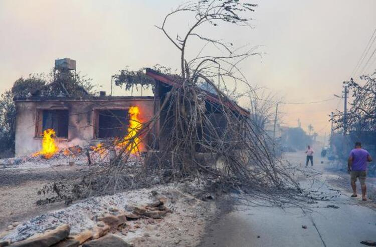 Antalya'da yangının ağır bilançosu: 3 kişi hayatını kaybetti