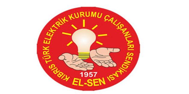 El-Sen İskele Bölge Amirliği Tesis Şubesi'nde uyarı grevi başlattı