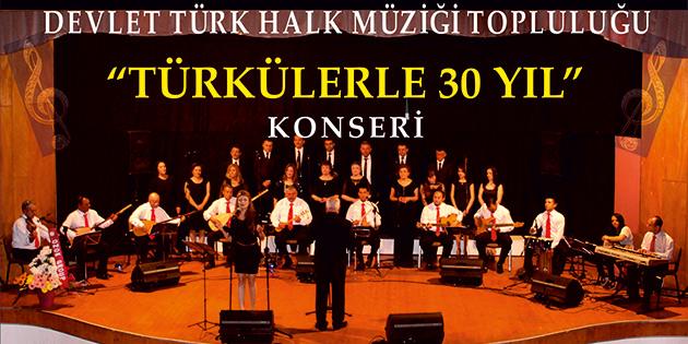 Devlet T�rk Halk M�zi�i Toplulu�u Beyarmudu'nda konser verecek