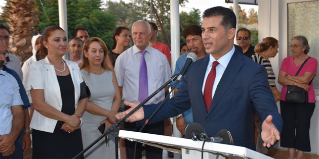Lefko�a tren yolu poliklini�i yeniden hizmet vermeye ba�lad�