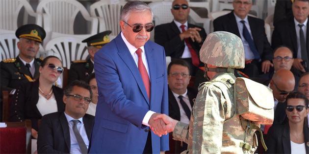 Lefkoşa'da 30 Ağustos Zafer Bayramı törenleri düzenlendi