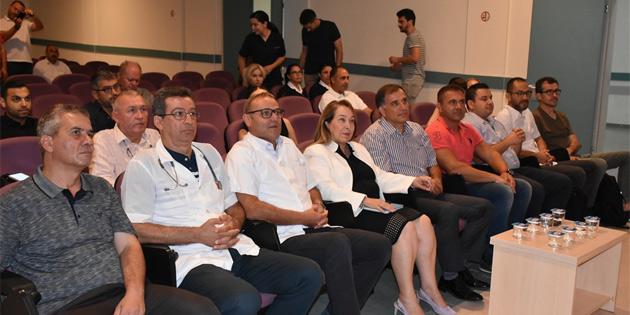 Sağlık Bakanı Besim, laporoskopik fıtık onarımı kursu açılışına katıldı