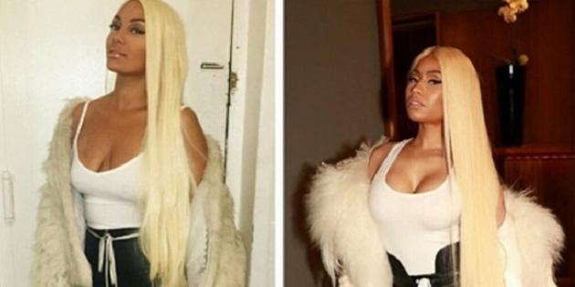 Nicki Minaj'ın pozu ortalığı yıktı