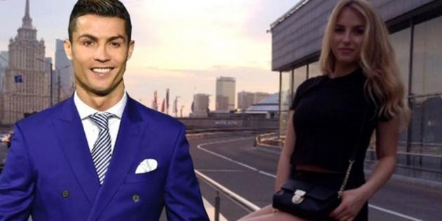 Ronaldo'nun Katya Matetskaya ile yaptığı kaçamak ifşa oldu