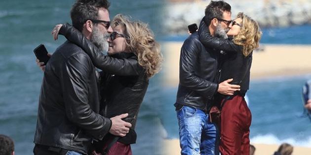 Barcelona tatilinde romantik anlar!