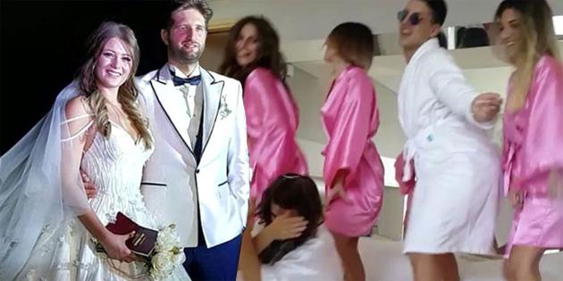 Düğün öncesi yatak dansı!