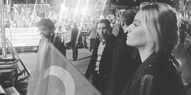 Esra Erol Taksim ve K�s�kl�'da demokrasi n�betindeydi!