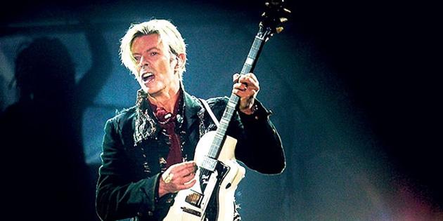 Bowie rüzgarı!
