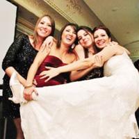 Düğünden eğlenceli kareler