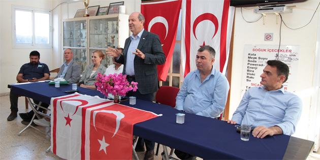 """Başbakan Tatar: """"Türkiye ile imzalanan anlaşma ekonomi için güvencedir, dayanaktır"""""""