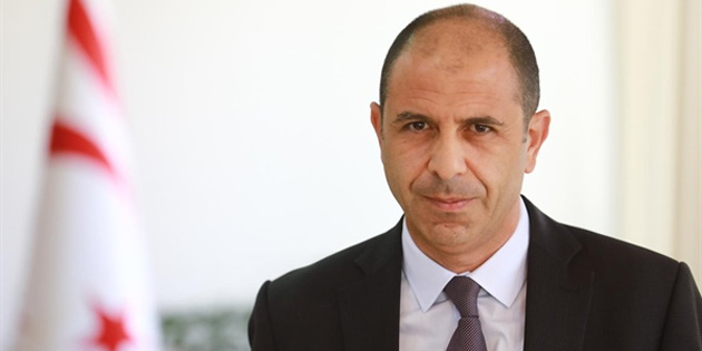 """Özersay: """"İnsanların korkuları üzerinden siyaset yapılmasına kıbrıs türk halkı müsaade etmez"""""""