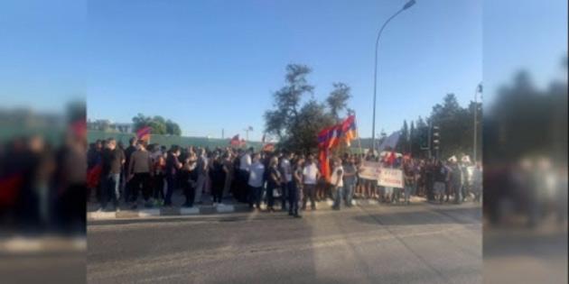 Ermenistan'a destek yürüyüşü