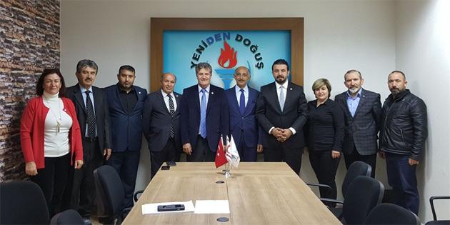 Esnaf ve Sanatkarlar Birliği Başkanı Altuncuoğlu YDP'ye katıldı