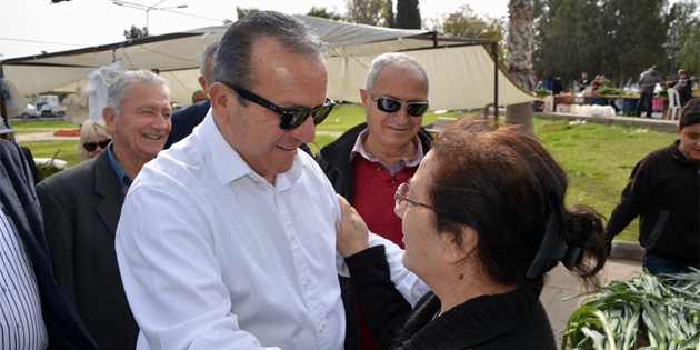 Bakan Ataoğlu Güzelyurt'u ziyaret etti