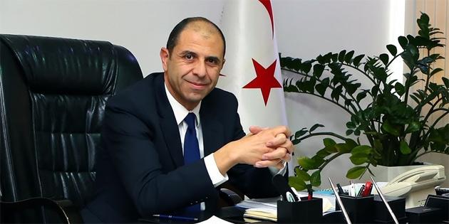 Özersay Ankara'da Türkiye Savunma Bakanı Akar'la da görüşecek
