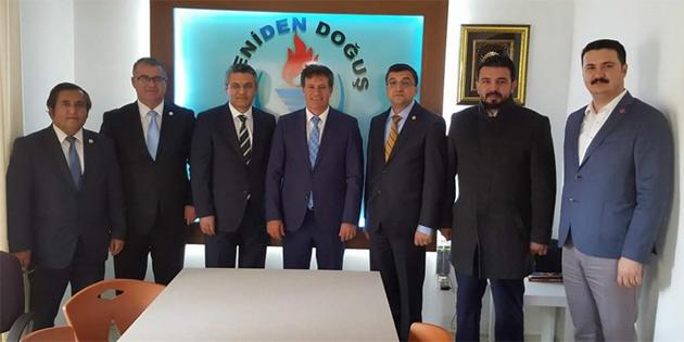 CHP heyeti YDP'yi ziyaret etti