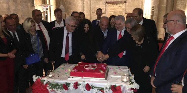 TKP Yeni Güçler birinci kuruluş yıldönümünü resepsiyonla kutladı