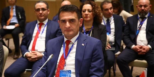 Tarım Bakanı Oğuz EİT toplantısına katıldı