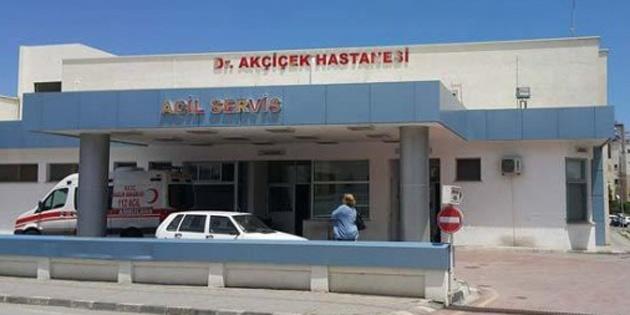 GİRNE'DE HEMŞİRE KORONA ÇIKTI
