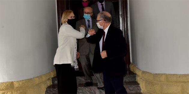 Cumhurbaşkanı Tatar, BM Genel Sekreteri'nin Kıbrıs Özel Temsilcisi Spehar'ı kabul etti