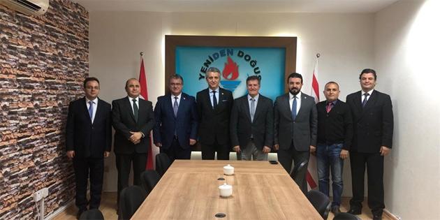 TC Dışişleri Bakanlığı'ndan Büyükelçi Erciyes YDP'yi ziyaret etti