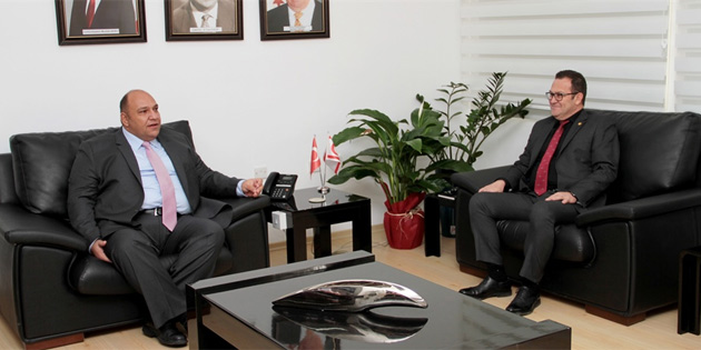 Bakanı Atakan, KTTO heyetini kabul etti