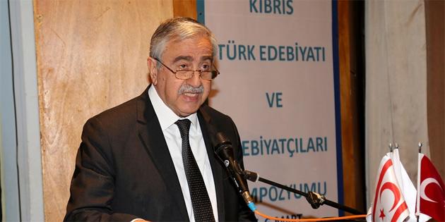 """""""Her bir destanda, masalda, şiirde, öyküde, romanda Kıbrıs Türk insanı ve toplumu var'"""