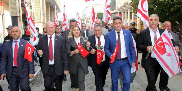 KKTC'den Zeytin dalı harekatı'na destek