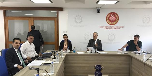 Hukuk, Siyasi İşler ve Dışilişkiler Komitesi, Bilişim Suçları Yasa Tasarısını görüştü